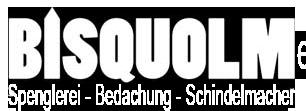 Bisquolm – Spenglerei – Bedachungen – Schindelmacher Logo